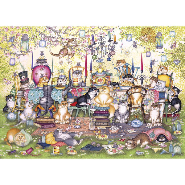 Mad Catters Tea Party 1000pc Puzzle