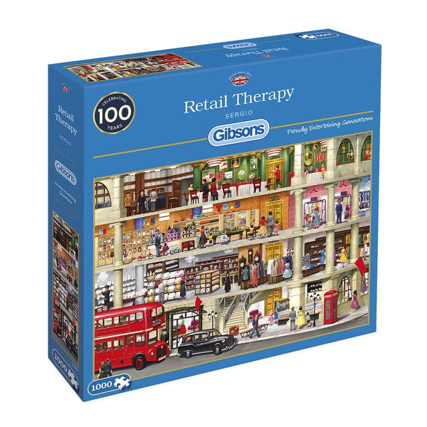Retail Therapy 1000pc Jigsaw Puzzle