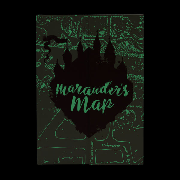 Harry Potter Marauder's Map Glow in the Dark Notebook