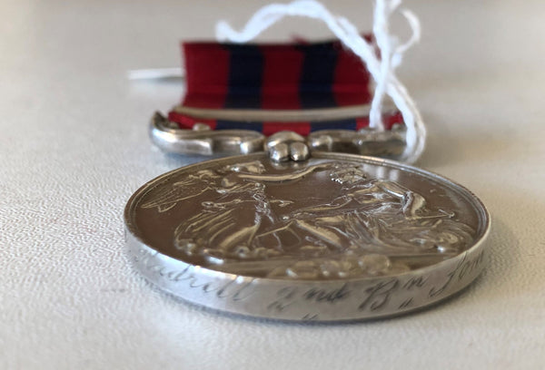 India General Service Medal 1854 clasp Burma 1885-87