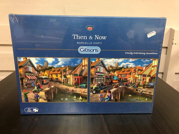 Then & Now 2x500pc Puzzles