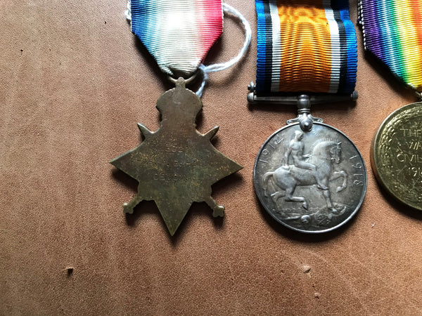 WWI Trio to the Devonshire Regt