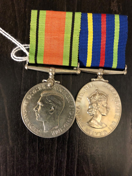 WWII Defence Medal & Civil Defence Medal