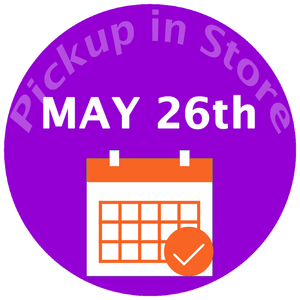 Pickup In Store May 26th -