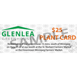 Gift Card (For use in store and at Farmers' markets)