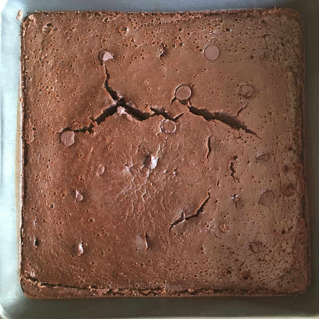 Fudgy Maple Flourless Chocolate Black Bean Brownies