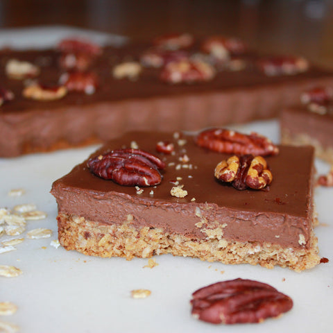 Vegan Urban Hippie Granola Chocolate Pecan Tart Recipe