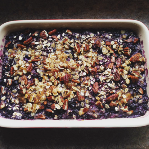 Urban Hippie Granola Wild Blueberry and Toasted Pecan Oatmeal
