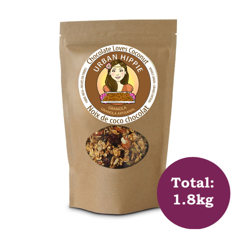 6 Pack Granolas -Chocolate Loves Coconut