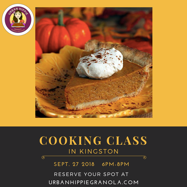 Autumn COOKING CLASS with Urban Hippie