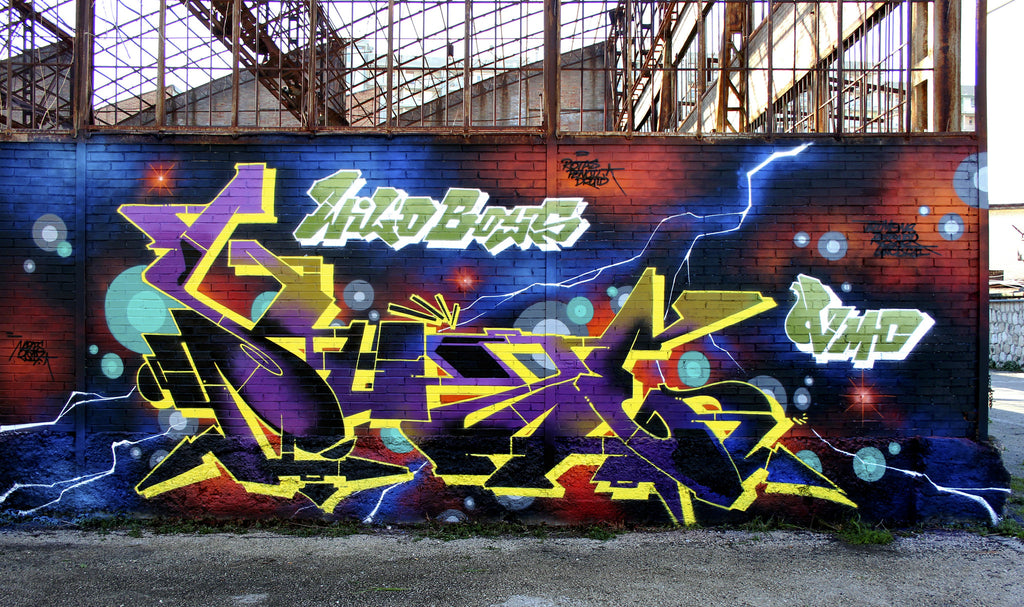 zeus40 bandit of the day graffiti wall colors graff
