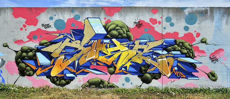 master piece graffiti wall colors zeus40