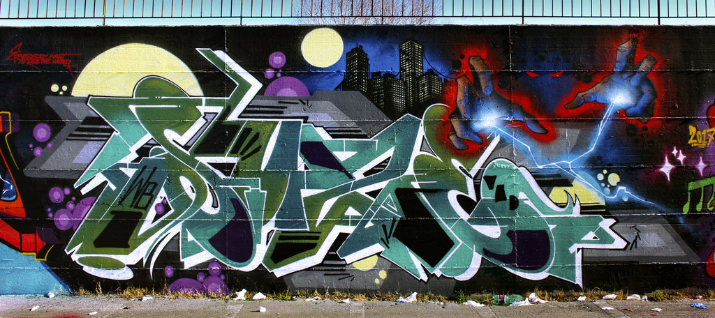 zeus40 vmd bandit of the day graffiti graf bombing