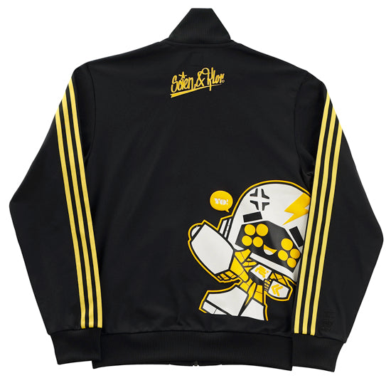 adidas 123klan end to end artist collection zip jacket back