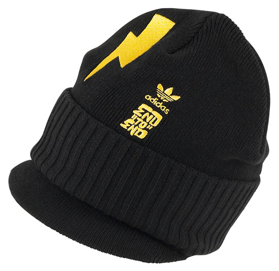 adidas 123klan end to end artist collection beanie visor black