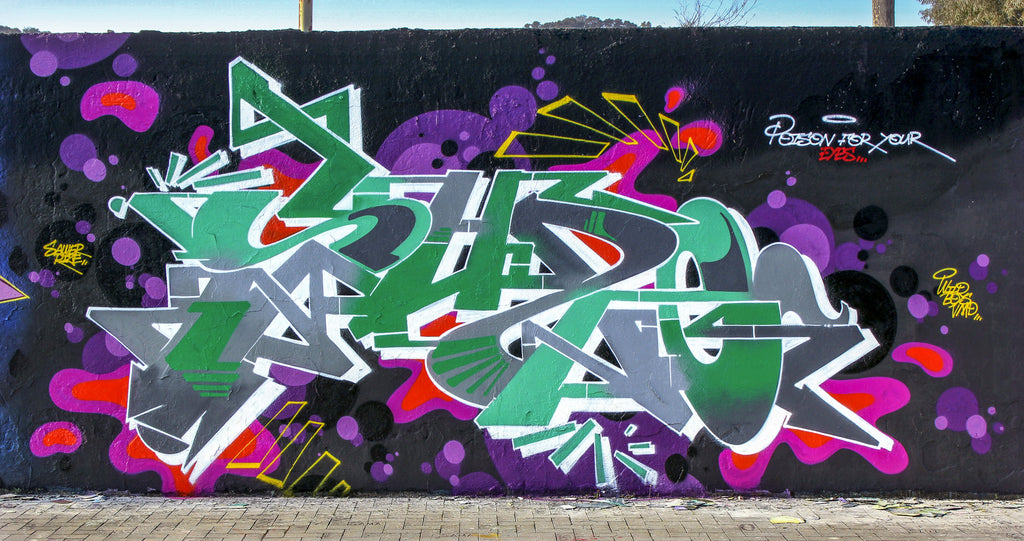 zeus40 bandit of the day graffiti vmd wild boys