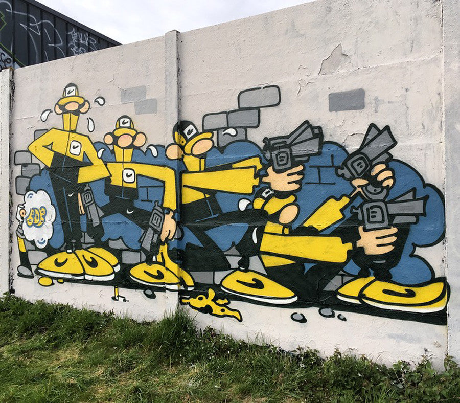 graffiti bob art wall amazing dalton lucky luke