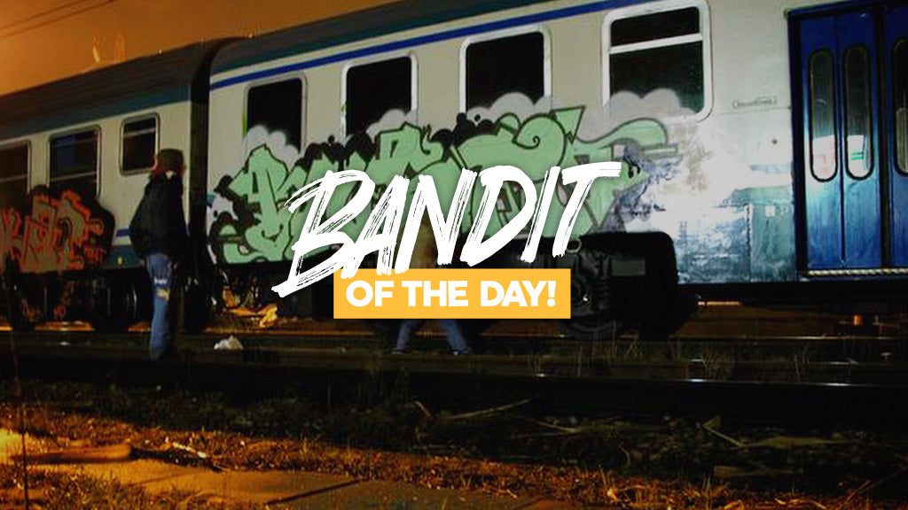 Rusto bandit1sm bandit of the day 123klan graffiti