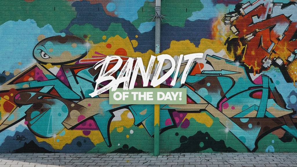 dee inca bandit of the day graffiti writing 123klan bandit1sm