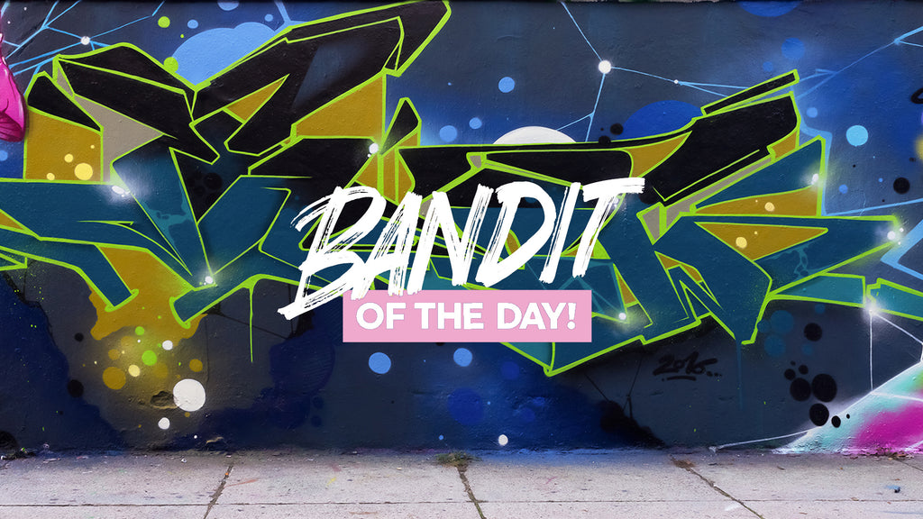 123klan bandit of the day mark126 graffiti art urban best artist