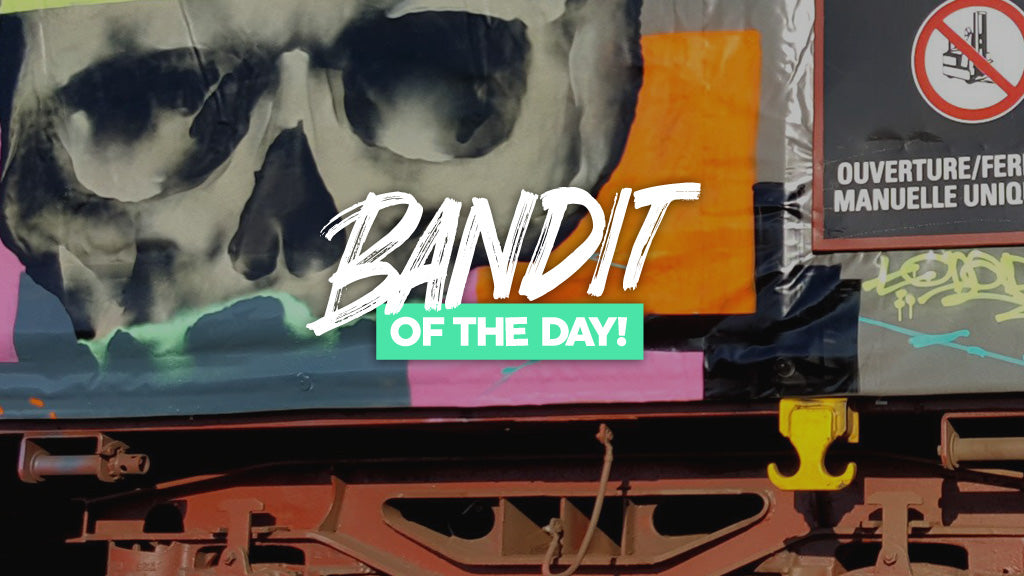 bandit of the day graffiti interview tchader 123klan bandit1sm train graffiti writing
