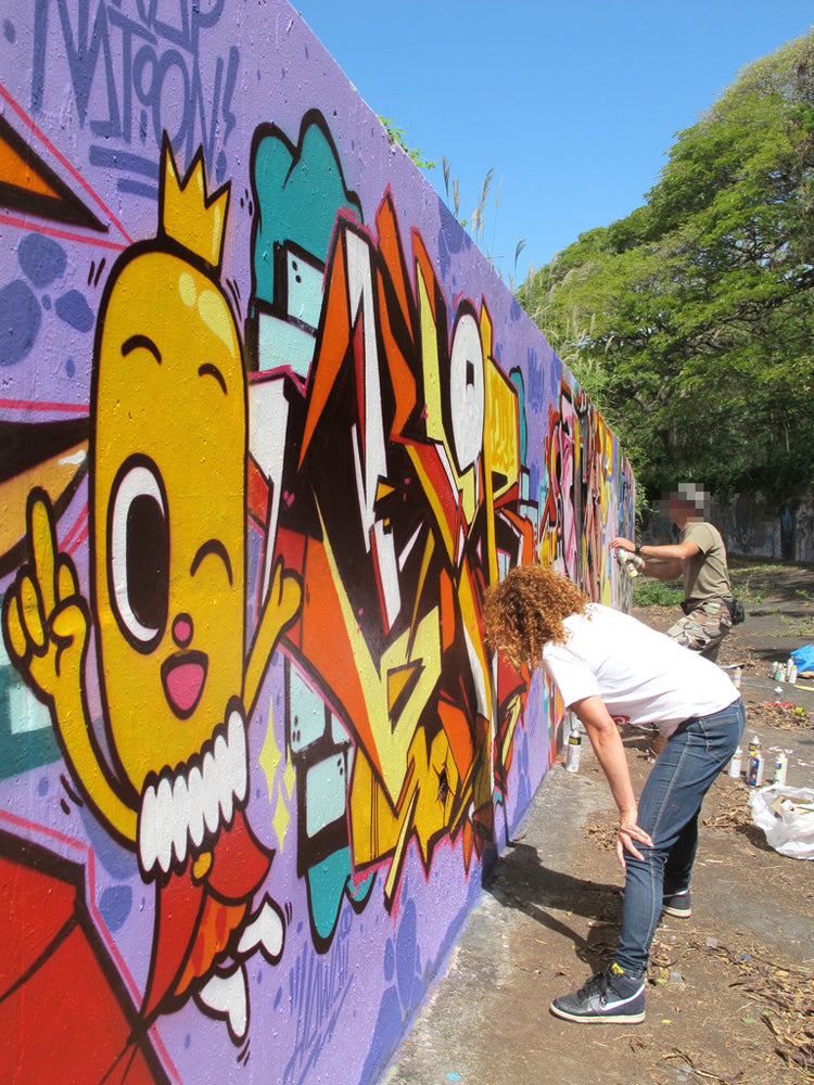 graffiti 123klan scien KLOR hawaii 2013