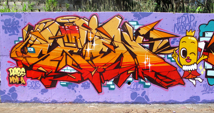 graffiti 123klan scien hawaii 2013