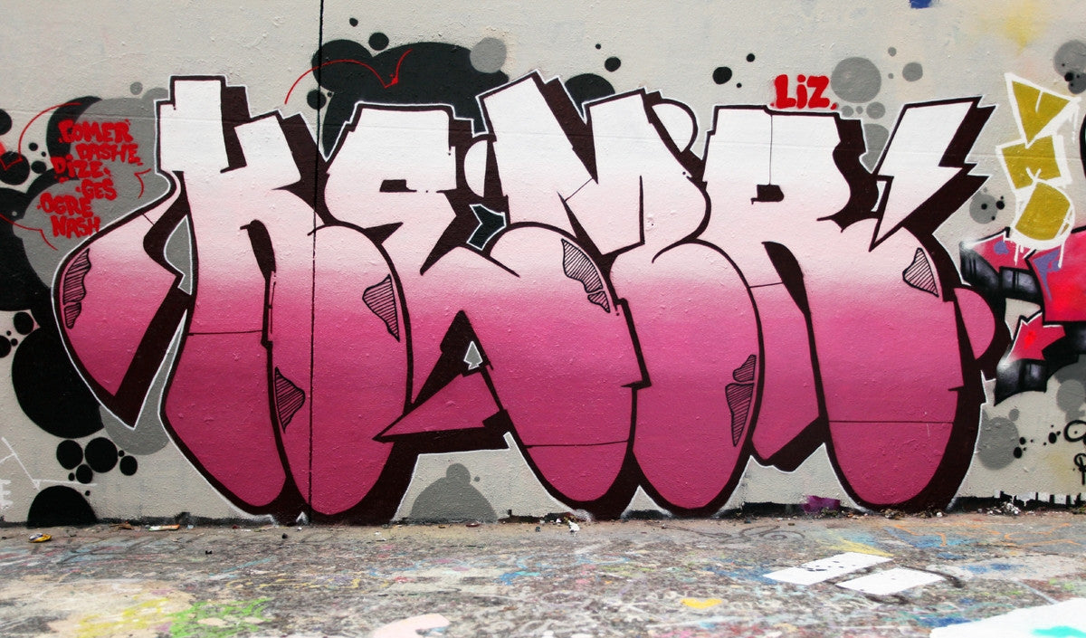 graffitti bombing kems bandit1sm