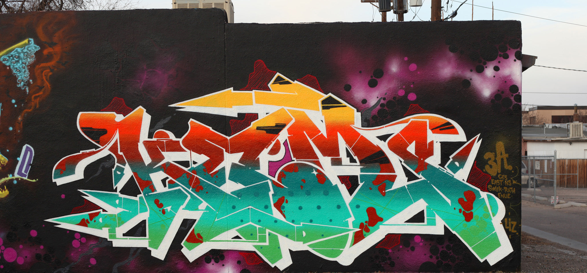 graffiti art kems kemer kem5 all chrome bandit of the day bandit1sm