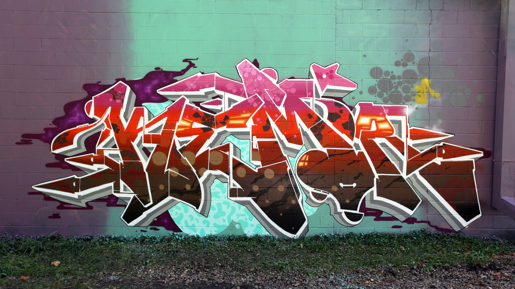 graffiti burner kem5 colors wow art