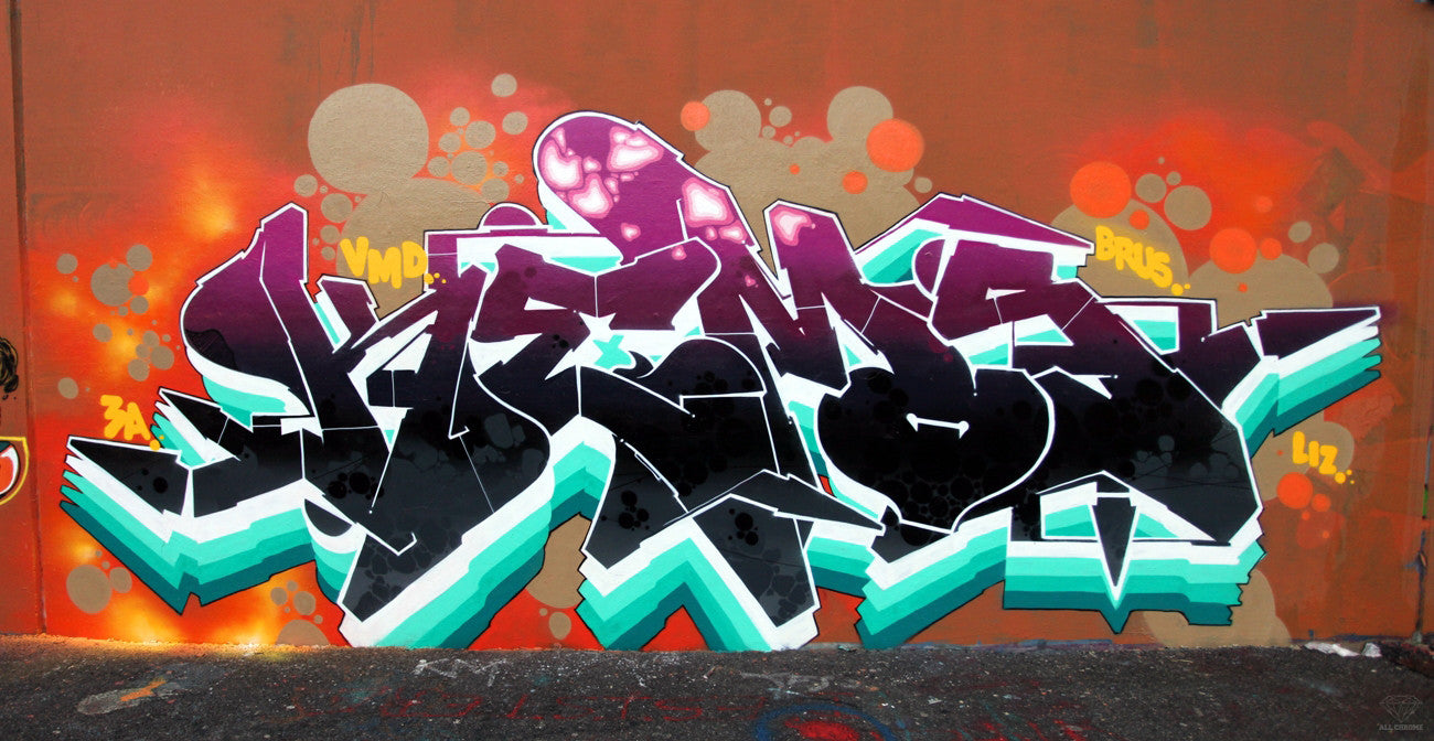 KEMR bandit of the day kems kem5 graff piece graffiti