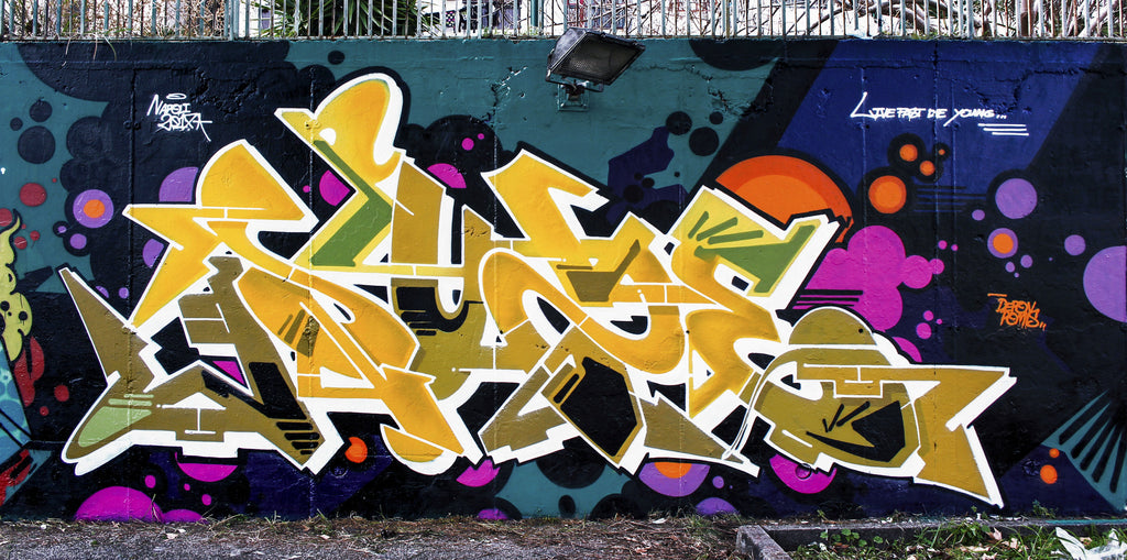 zeus40 bandit of the day graffiti vmd