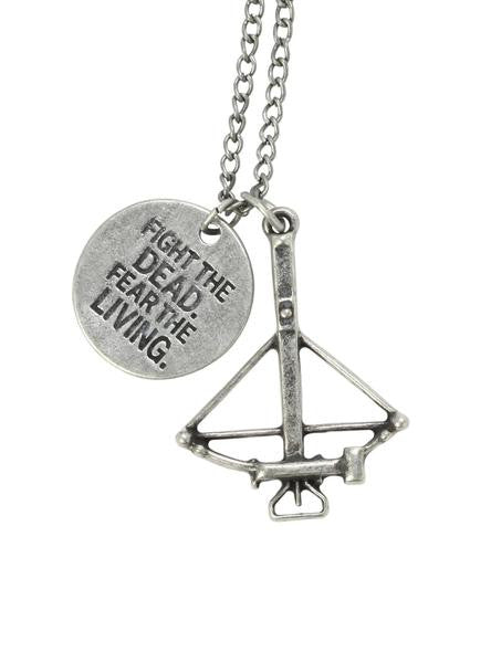 ★ FREE ★ The Walking Dead Crossbow Necklace