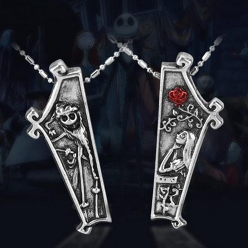 Jack & Sally - His & Her Necklaces