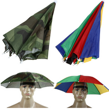 Load image into Gallery viewer, Umbrella Rainbow Hat
