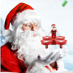 Flying Santa Quadcopter
