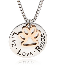 Load image into Gallery viewer, Live, Love, Respect Necklace
