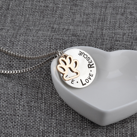 Live, Love, Respect Necklace
