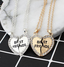 Load image into Gallery viewer, Broken Hearts Best Friends Pendant Necklaces