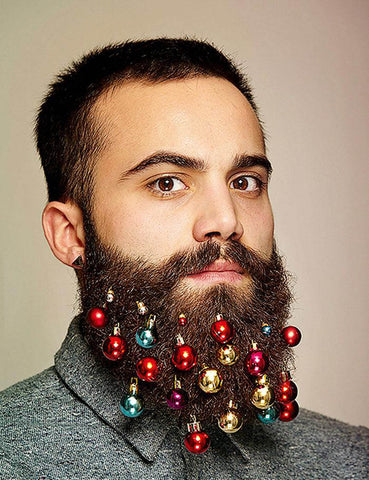 Christmas Beard Baubles