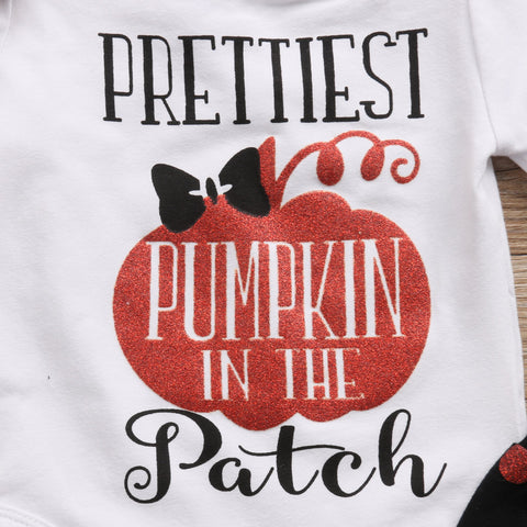 Prettiest Pumpkin in the Patch Romper