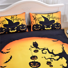 Load image into Gallery viewer, Halloween 3D Bedding Set