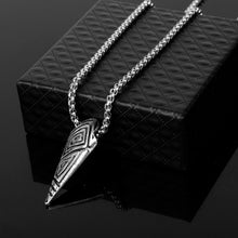 Load image into Gallery viewer, Black Panther Etched Claw Necklace