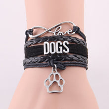 Load image into Gallery viewer, Infinity Love Dog Bracelet