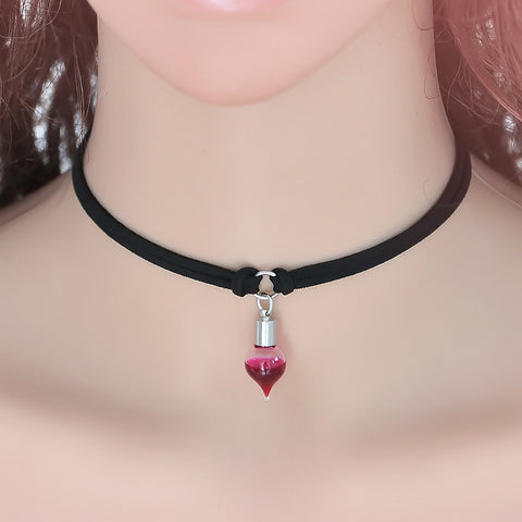 Vampire Blood Choker Necklace