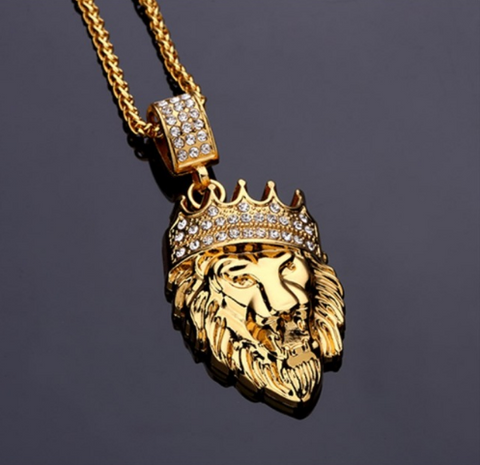 Lion King Crown Necklace