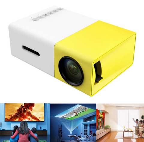Portable Mini LED Projector