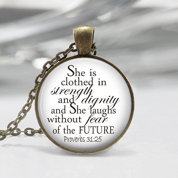 Strength and Dignity necklace