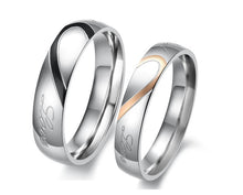 Load image into Gallery viewer, Real Love Couple Rings