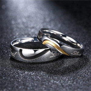 Real Love Couple Rings